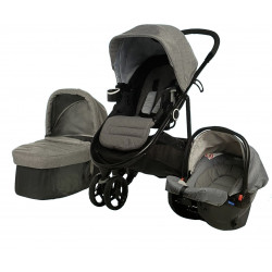 GRACO Modes 3 Lite Trio Mid Grey