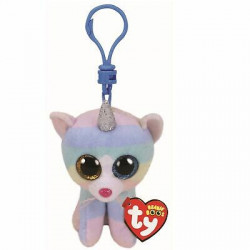 TY Beanie Boos HEATHER - cat with horn clip