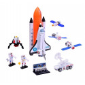 Astro Diecast Space Shuttle with Rocket Playset
