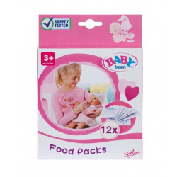 BABY born Food, 12 Sachets