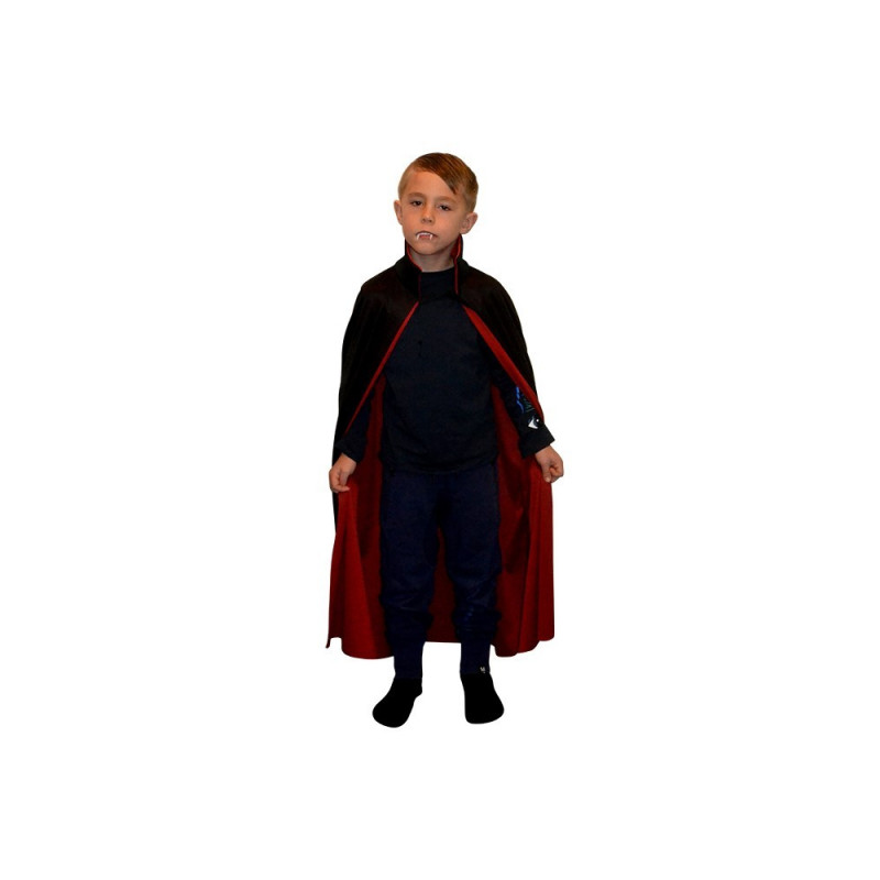 DRACULA CAPE BLACK AND RED KID
