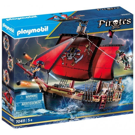 Playmobil 70411 Skull Pirate Skepp