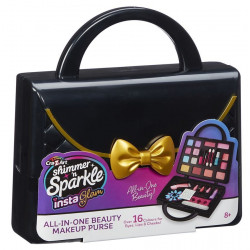 Shimmer n sparkle instaglam cosmetic purse black