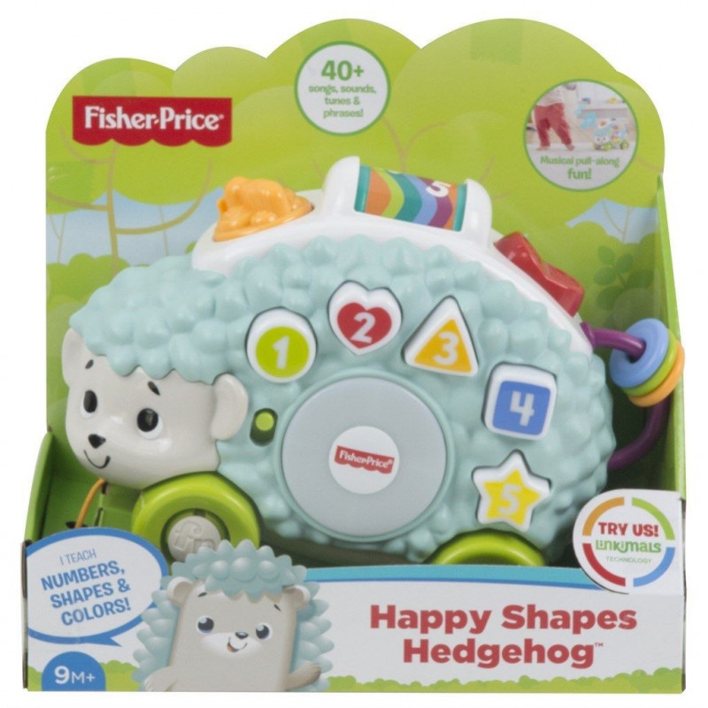 Fisher-Price Linkimals Happy Shapes Hedgehog - SW