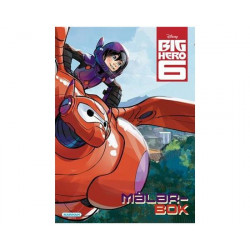 Målarbok Big Hero 6