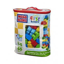 Mega Blocks 60st Bag Blue