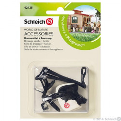 Sch Dressage Saddle + Bridle