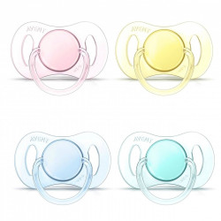 Soother New Born 02m 2pack girl