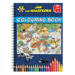 JvH Colouring book