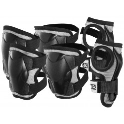 Protection set Comfort JR Black XS