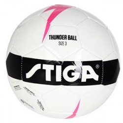 Fotboll Thunder Ball 3 White/Pink