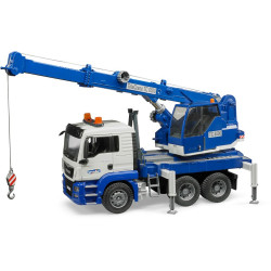MAN TGS Crane Truck with Light & Sound