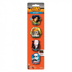 Star Wars Suddgummi 4-pack