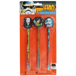 Star Wars blyertspennor 3-pack