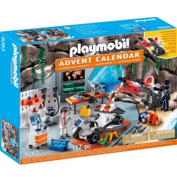 Playmo 9263 Advent Calendar- Top Agents