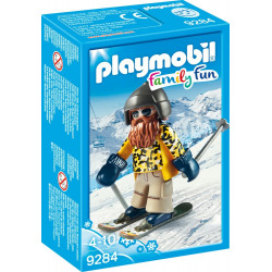 Playmobil Family Fun - Skidåkare 9284