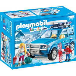 Playmobil Family Fun - Bil med takbox 9281