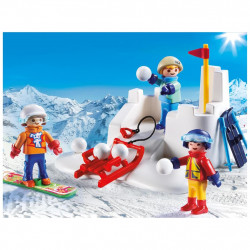 Playmobil Family Fun - Snöbollskrig 9283