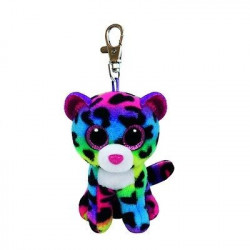 TY Beanie Boos DOTTY - multicolor leopard clip