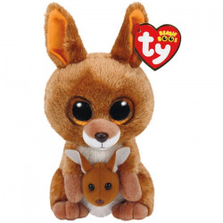 TY Beanie Boos KIPPER - Brown Kangaroo Regular