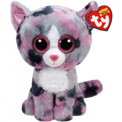 TY Beanie Boos LINDI - Cat Pink Medium