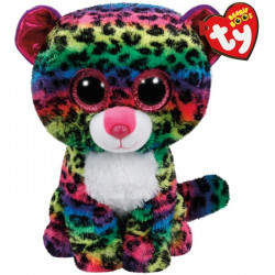 TY Beanie Boos DOTTY - Multicolor Leopard Medium
