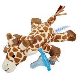 Dr. Brown Loveys Giraffe - Blå napp