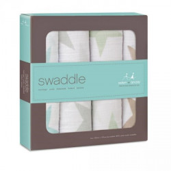 Classic swaddle 4-pack superstar-scout 120x120cm