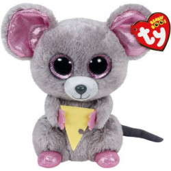 TY Beanie Boos SQUEAKER-Mouse with Cheese reg.