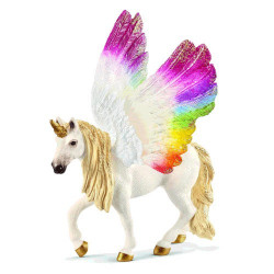 Sch 70576 Winged Rainbow Unicorn