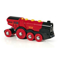 Mighty Red Action Locomotive
