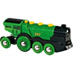 Brio Green Action Locomotive