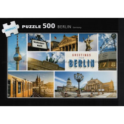 Pussel Berlin Germany 500 bitar