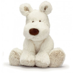 Teddy Cream Hund stor vit