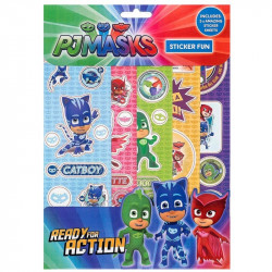 PJ MASKS 5 STICKERSSET