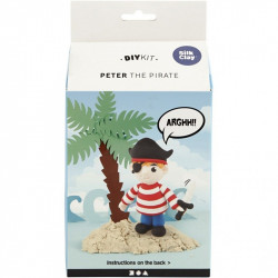 Silk Clay Peter The Pirate