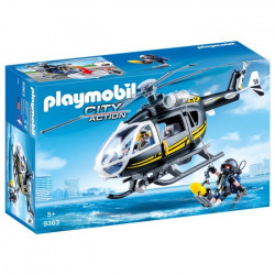 Playmobil 9363 Swat Helicopter