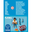 Playmo 9358 Pirate with Treasure Chest