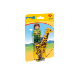 Playmobil 9380 Zookeeper with Giraffe