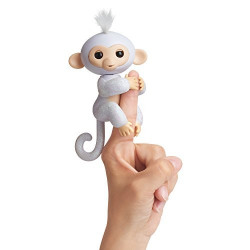 Fingerlings glitter Monkey vit