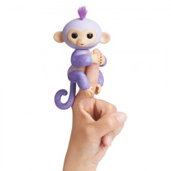 Fingerling glitter Monkey lila