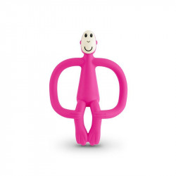 Matchstick Monkey Teething - PINK