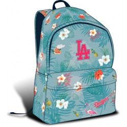 LA Dodgers Premium large backpack, turquoise