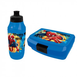 Spiderman lunch box & bottle 2pcs