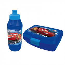 Cars 3 lunch box & bottle 2pcs