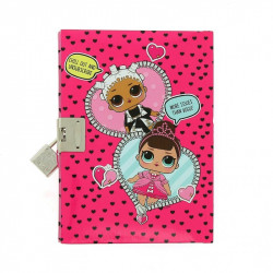 L.O.L Surprice! Lockable diary with mini pencil