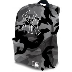 NY YANKEES grey camouflage, white outlined logo